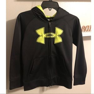 Boys Under Armour zip up jacket